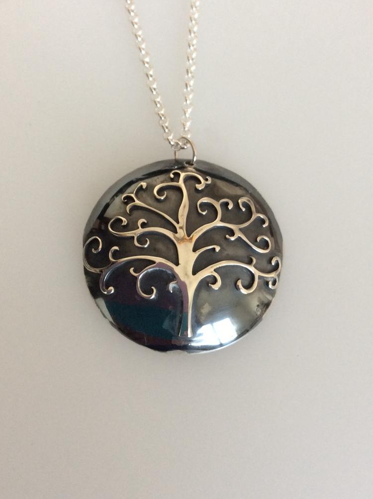 Handmade tree life necklace - sarahlreece | ello