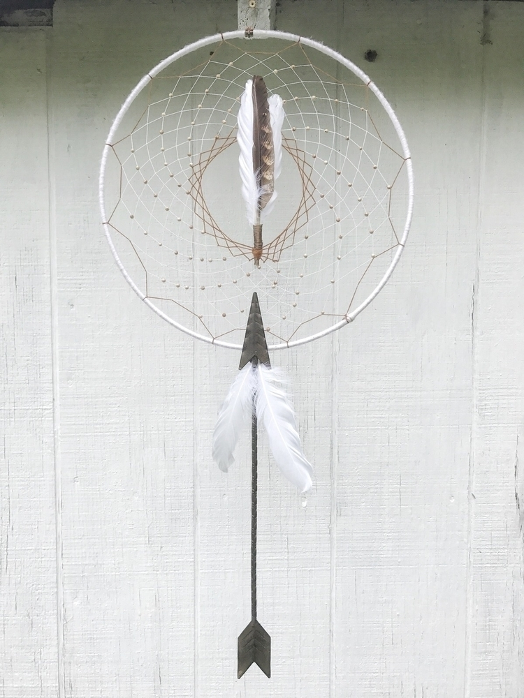 Earthy Archer Dreamcatcher four - thewoodsywitchh | ello