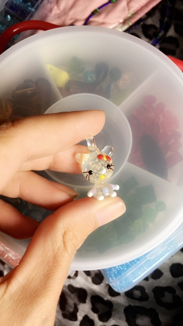 UV reactive handmade glass pend - bodycandybycarlie | ello