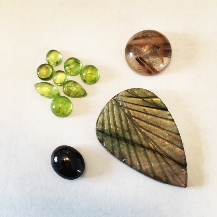 Delivery day - labradorite, stargarnet - beth_johnson_jewellery | ello