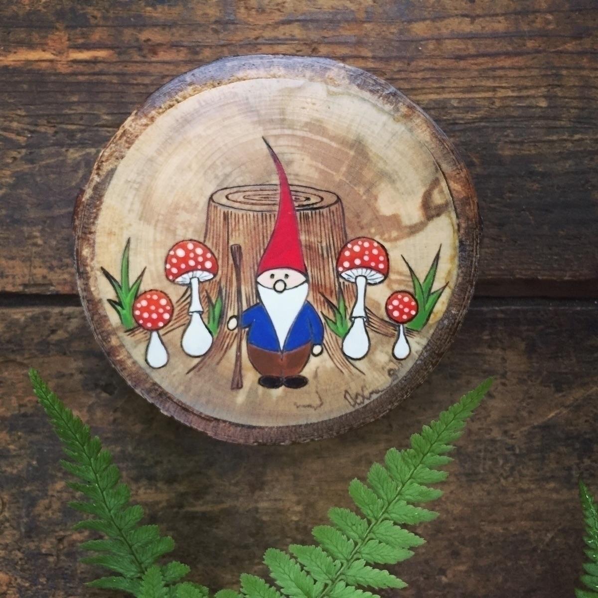 Gnome home - forestfriend, woodland - forageworkshop | ello