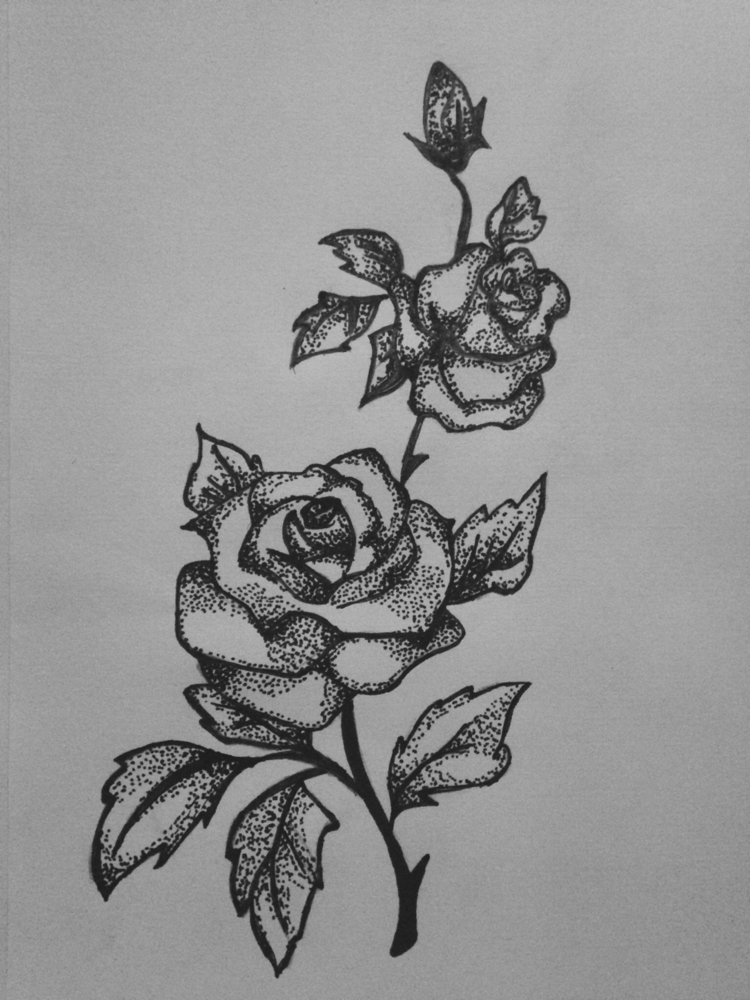 Dot Work Designs - Dotwork, Drawing - kristalcave | ello