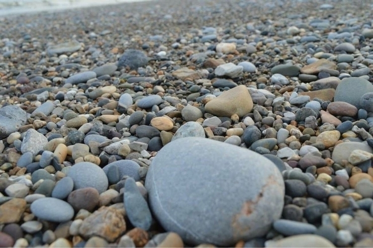 Pebble Beach - Pebbles, Photography - kristalcave | ello