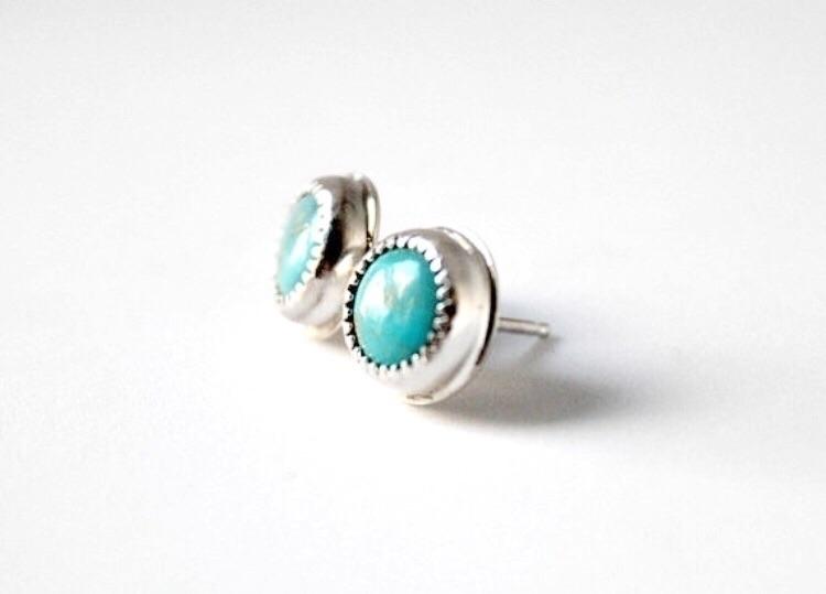 2 pairs Kingman turquoise(Arizo - gugmajewelry | ello