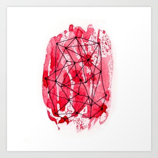 Imprint Art Print Sail Moon - dimsemi | ello