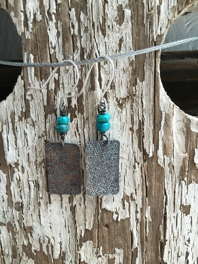 pair patina textured squares ad - thelilypadproject | ello