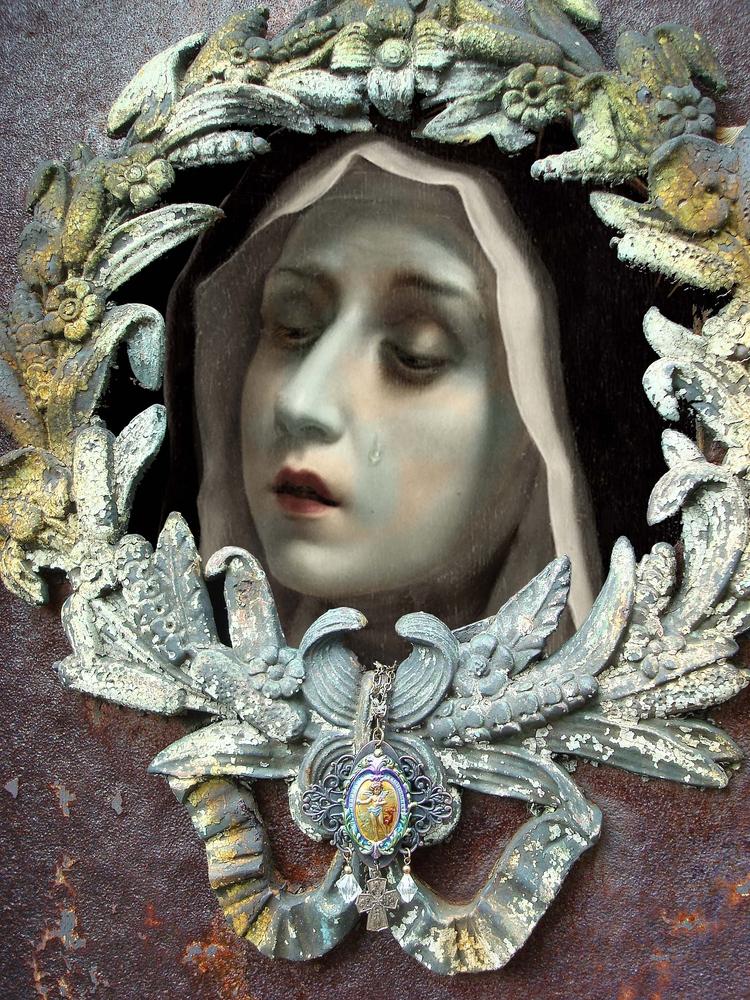 Nun - Digital art piece, 2016 - incarnations   ello