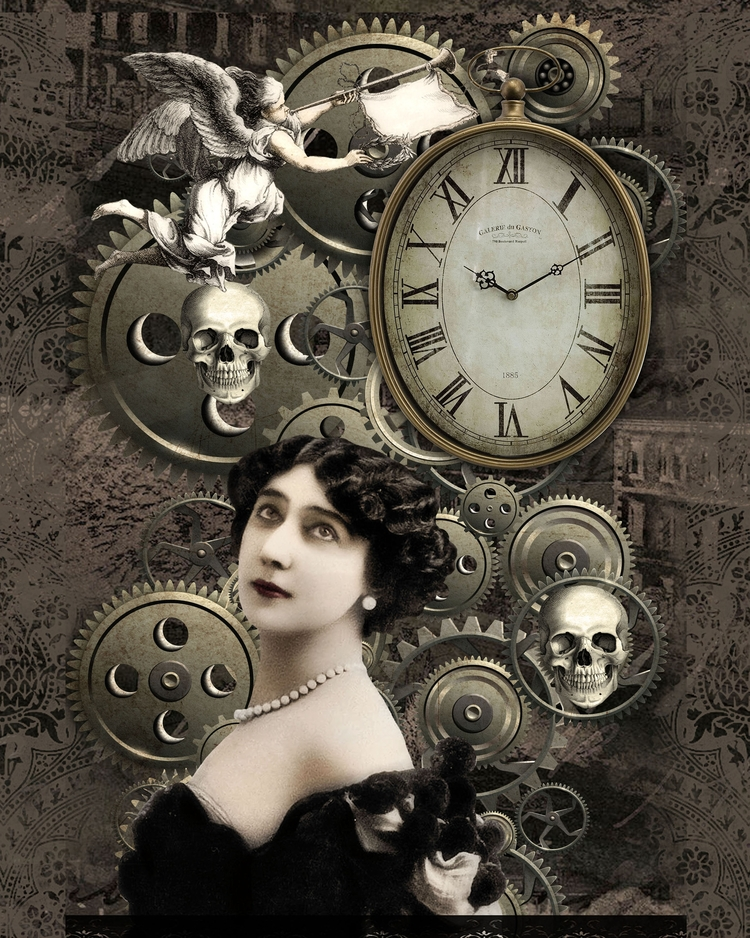 Time Fleeting - Digital art pie - incarnations | ello