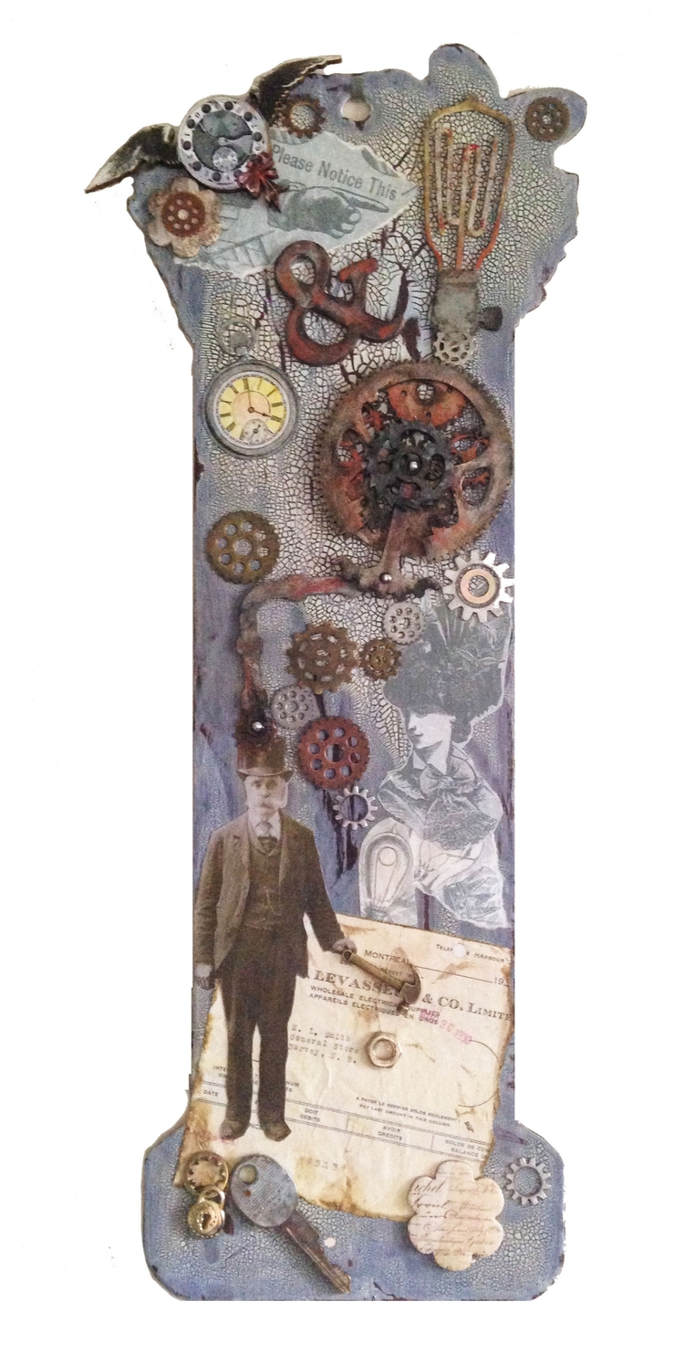 Steampunk Collage piece, 2016 - incarnations | ello