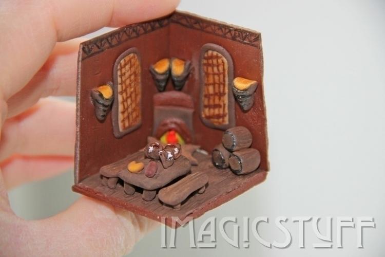 Tiny Fantasy Tavern.:beer::chee - i_magicstuff | ello
