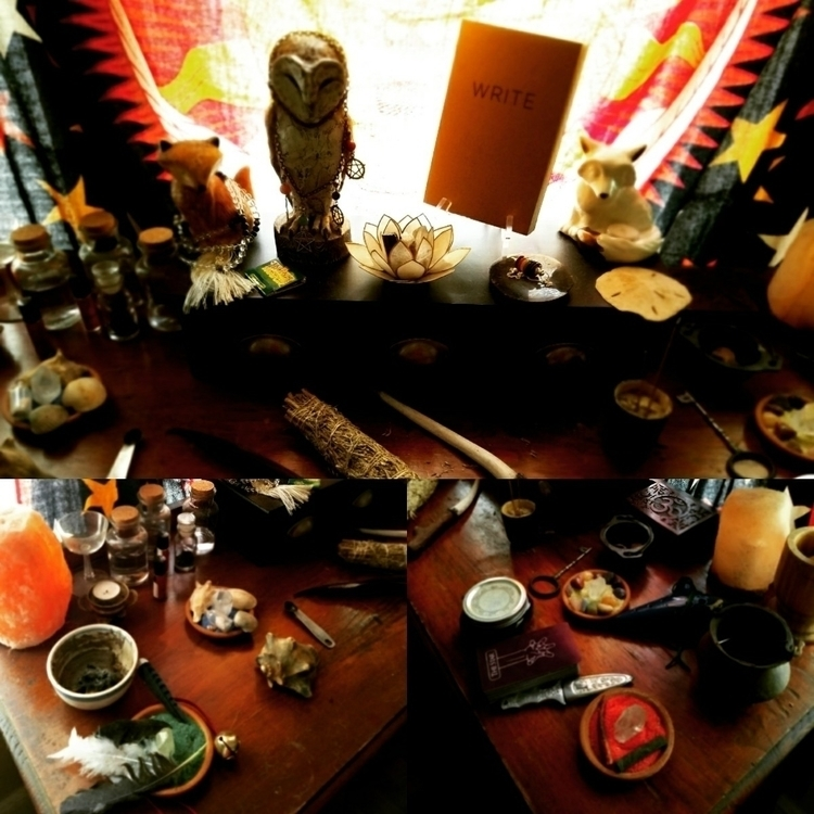 picture altar - soothsayerwitch | ello