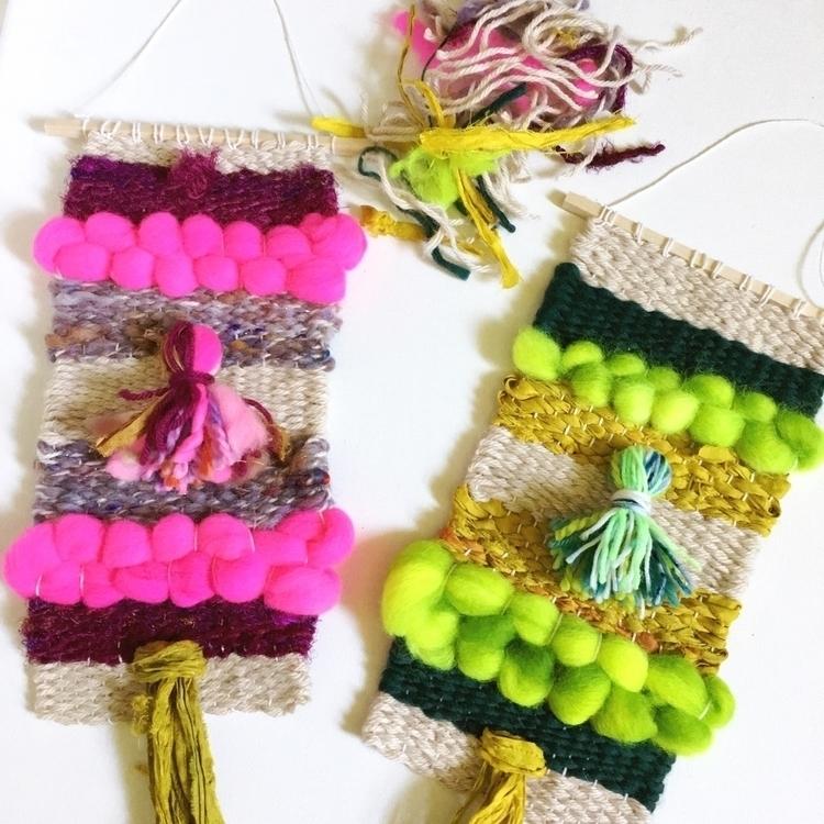 Woven textures - textile, weaving - amandajfrench | ello