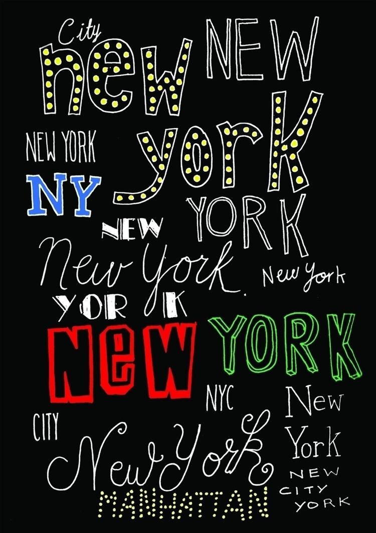 NYC // Anastasia Wigg Illustrat - anastasiawigg | ello