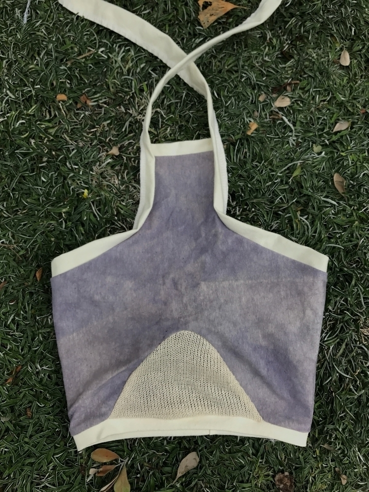 High Tide Crop Top Patchouli Cr - flowerpothandmade | ello