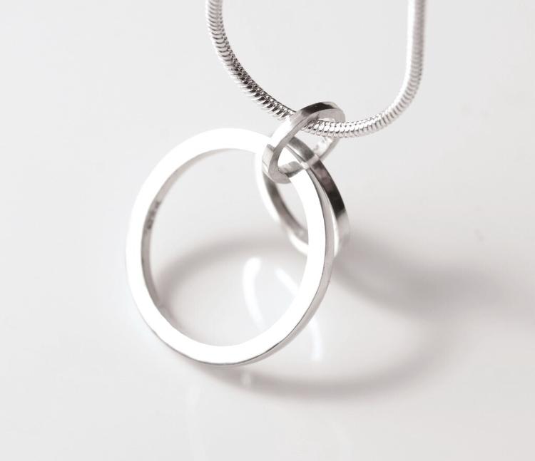 Ring Silver Pendant - 3s - ring - mineralrare | ello