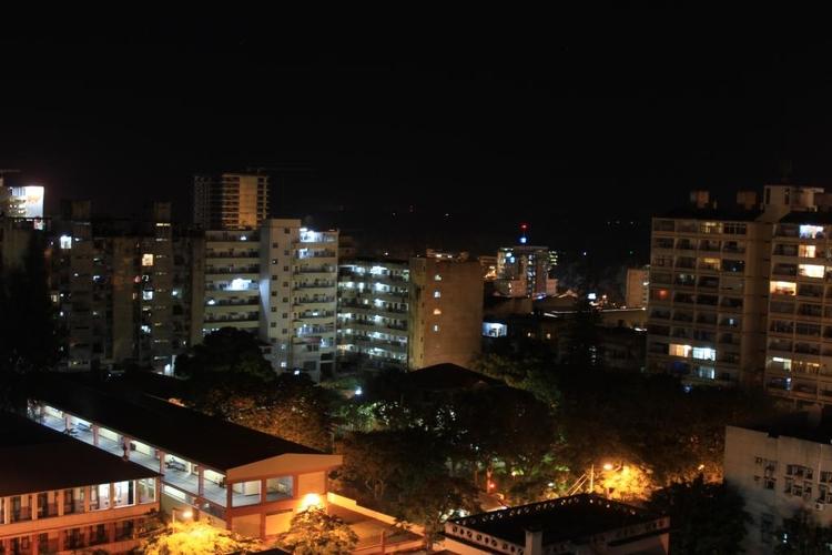 Downtown Maputo midnight - duncangarethanderson | ello