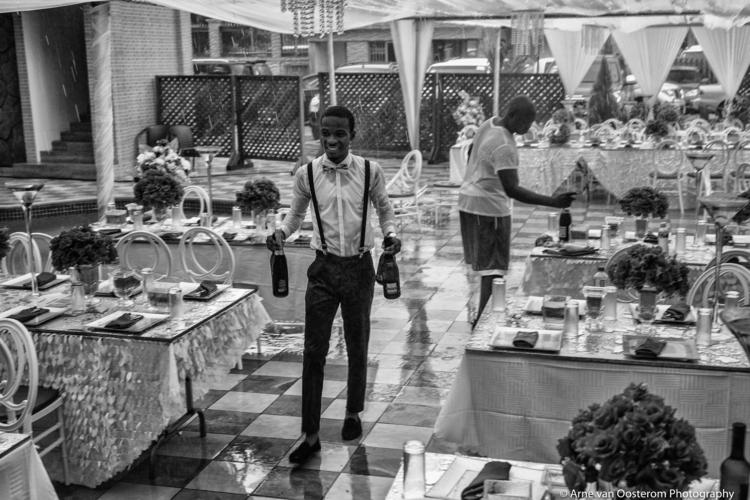 Accra Ghana - wedding, rain, blackandwhitephotography - arnevanoosterom | ello