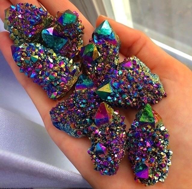 Etsy shop!! Check - rainbowaura - lavender_goddess | ello