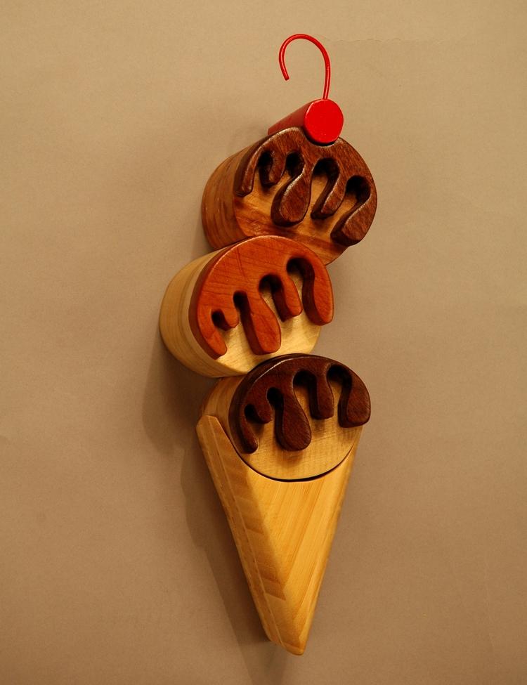 Scoops Wood, Wire Spraypaint co - artbykaylabraden | ello