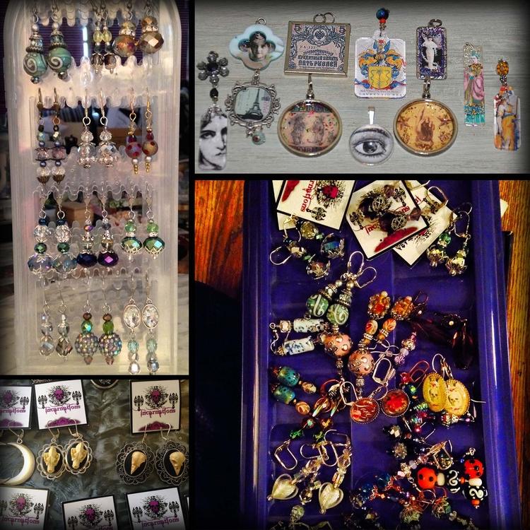 Jewelry treasures - earrings pe - incarnations | ello