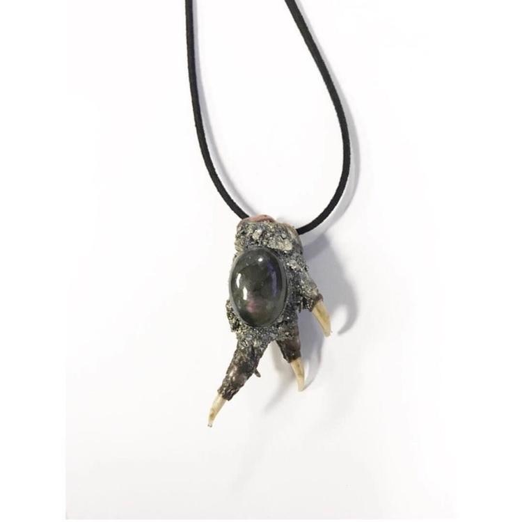 Caiman Claw pyrite labradorite  - hgtandbone   ello