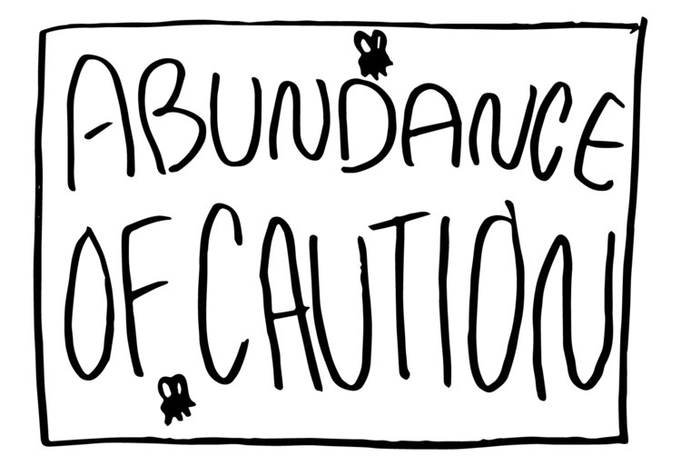 Abundance Caution number - illustration - dsmoore | ello