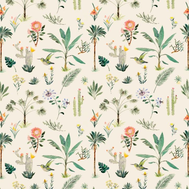 tropical forest - textile,, surfacedesign, - rizotto | ello