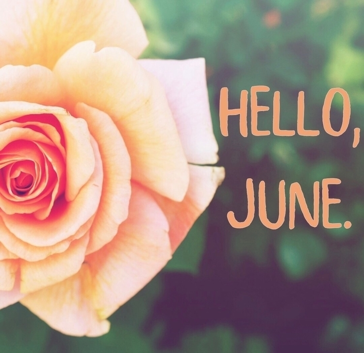 Happy June! month means time ac - catherine_and_evie_decor | ello