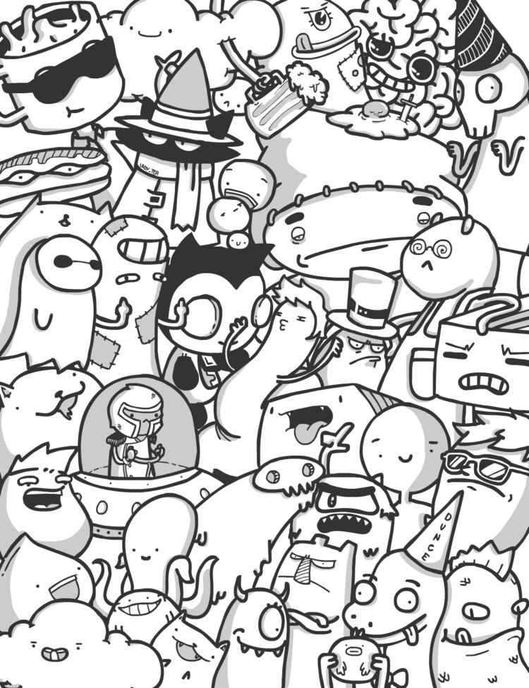 doodle, flash, wacom, digitalart - toasterpancakes | ello