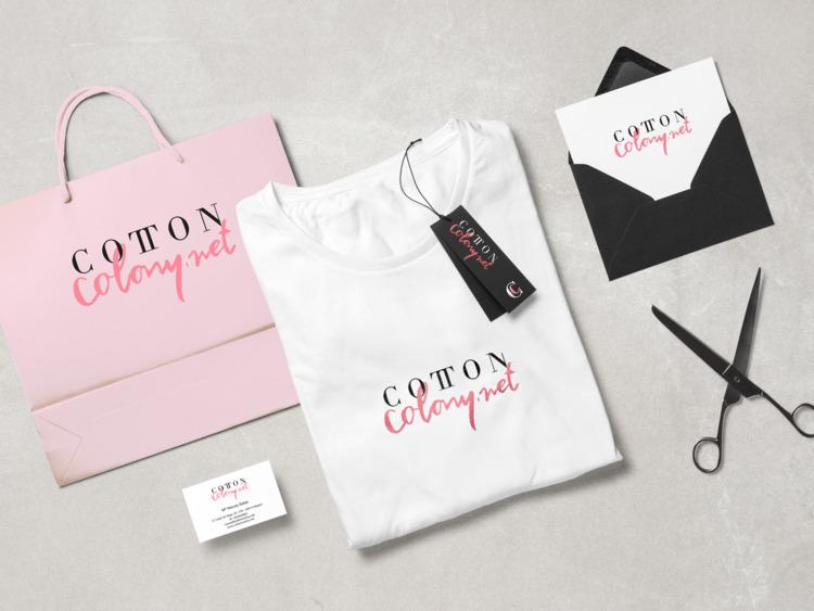 CottonColony, Branding, BrandDesign - laurasingular | ello