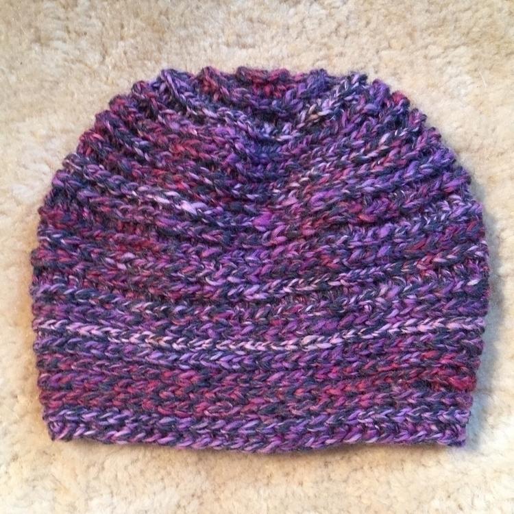 Completed slouchy hat/beanie -  - medusas_handmade | ello