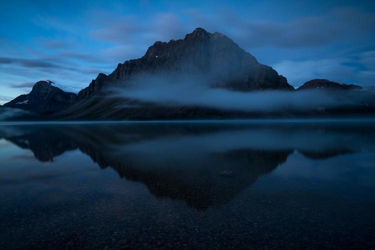 Early Morning Fog Sunrise - Bow - fadihage | ello