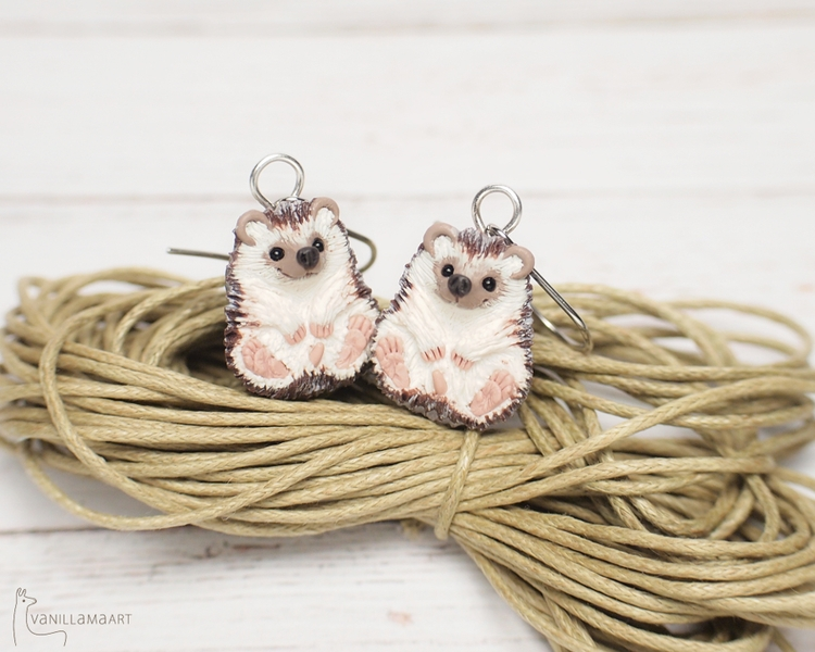 Cute earrings :) 100% handmade - dorotavl | ello