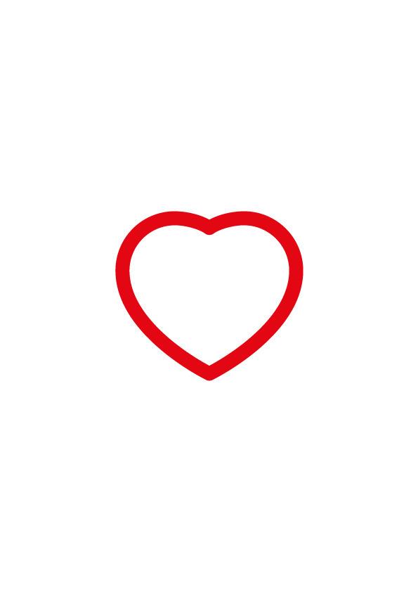 red <3 - icon, graphic, design - benja_d | ello