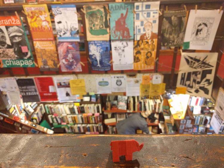 left bank books seattle, wa - elephantorigami | ello
