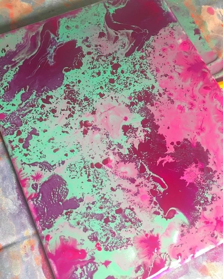 Work progress - art, artist, acrylic - thatgirlstayce | ello