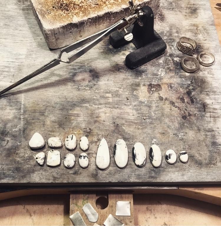 White Buffalo Turquoise 🖤 comin - mysticvalleyjewelry | ello