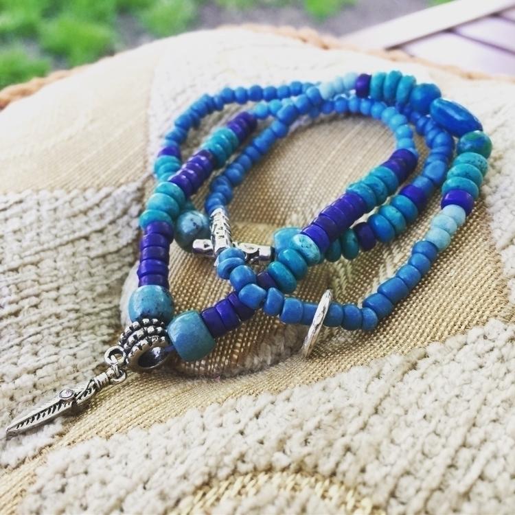Howlite stack trio - bohoclassy - raymondscottjewelry | ello