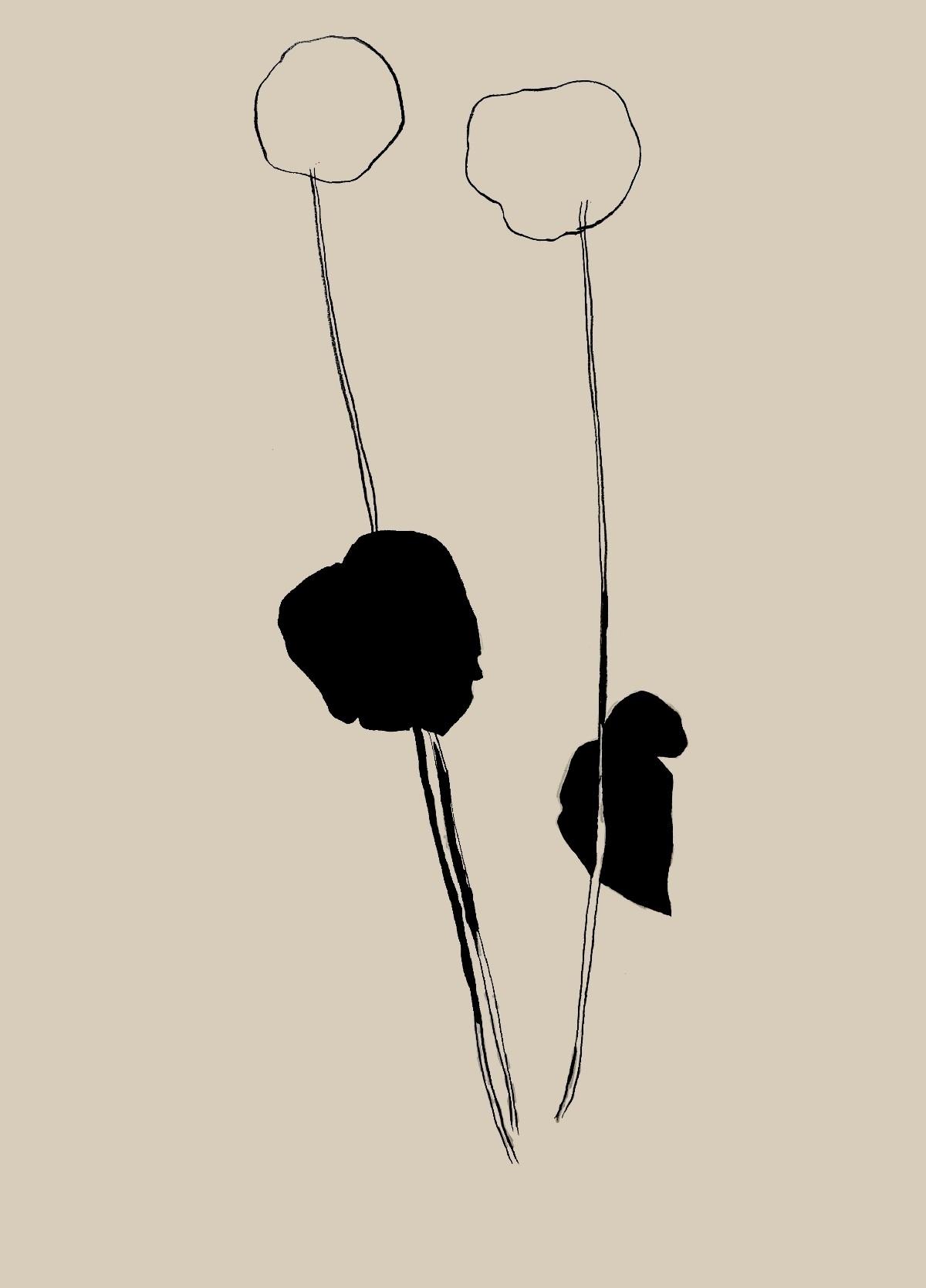drawing, plant - milica_stefanovic | ello