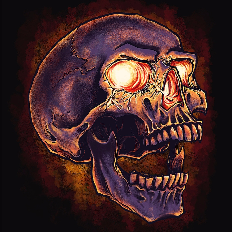 Skull - skulls, skull - affan2fly | ello