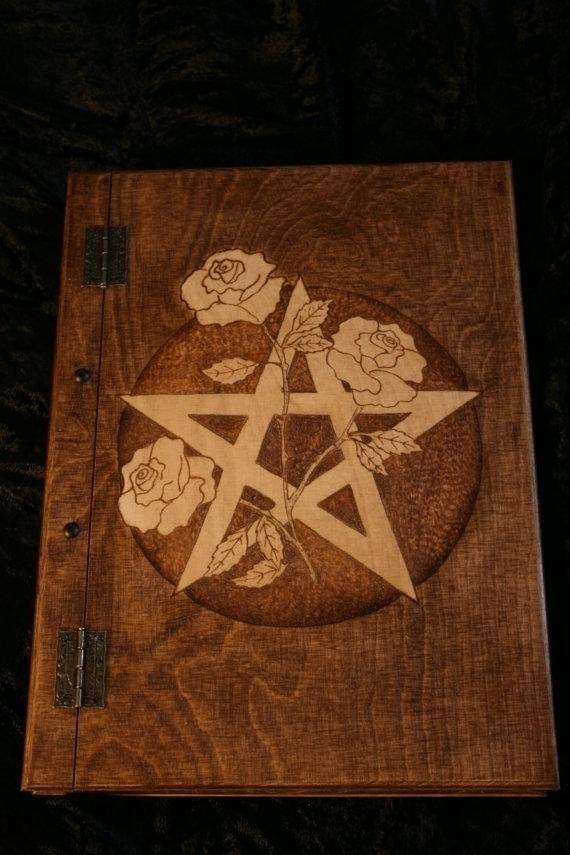 Book shadows roses pentagram - Grimoire - demondragonfly | ello