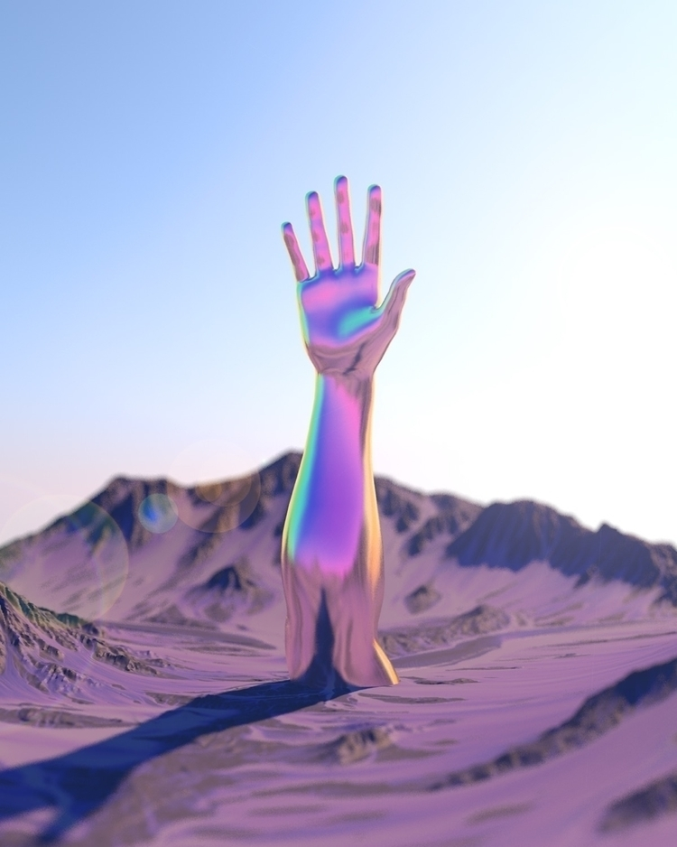 candy mountain, Charlie - digitalart - nickjaykdesign   ello