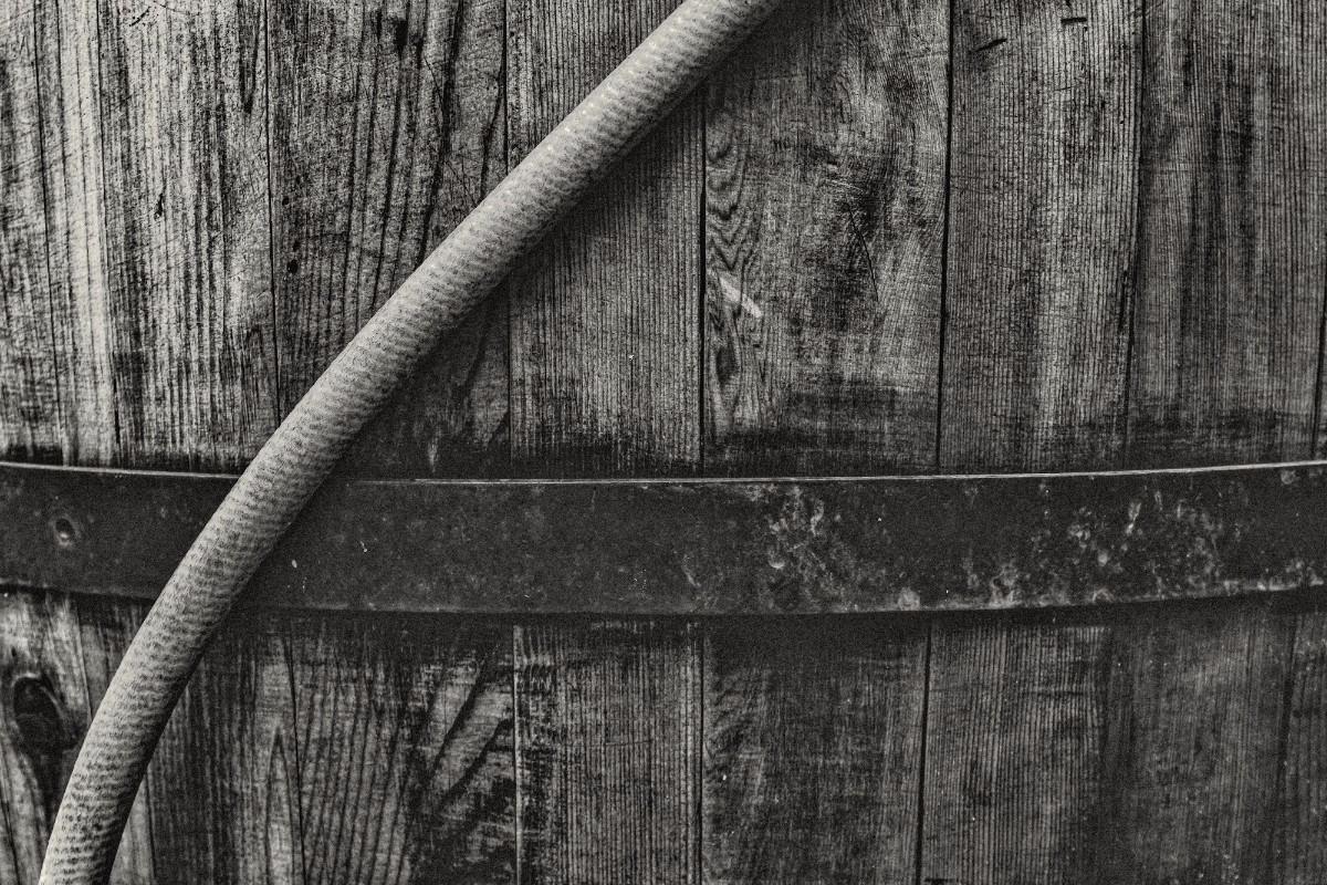 Water barrel - photography, blackandwhite - iangarrickmason | ello