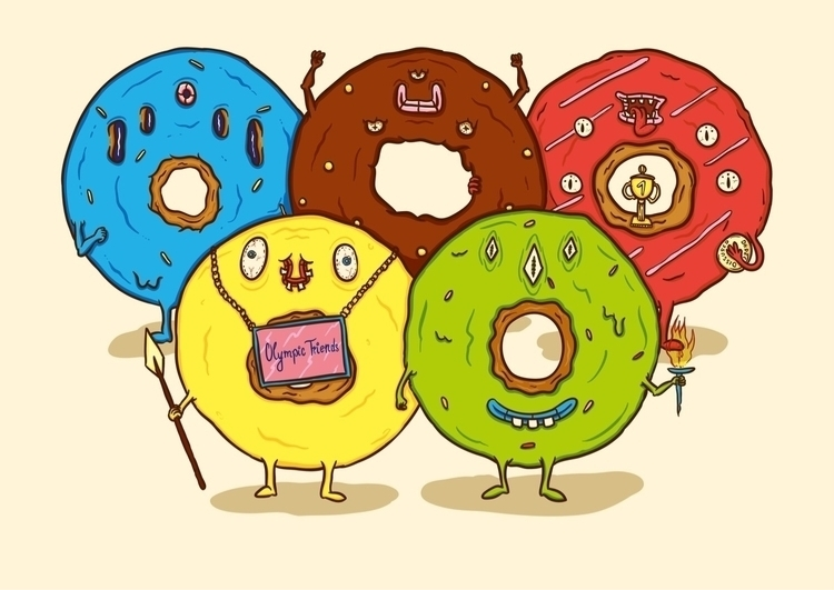 national donut day submission I - pencake | ello