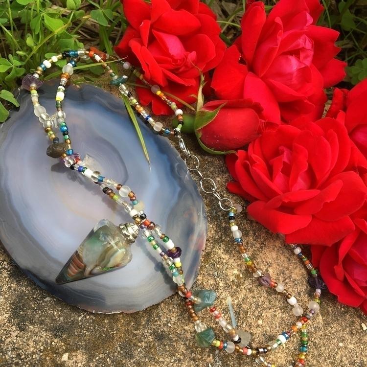 jewelry, pendulum, necklace, crystal - magicalminnie | ello