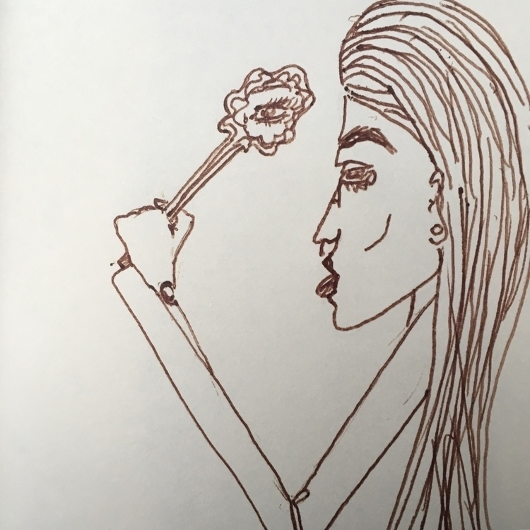mirrors - ink, sketch, byme - nyloncigs | ello