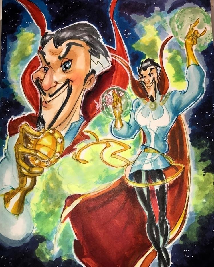 doctor  - drstrange, comics, cartoons - kevtoons | ello