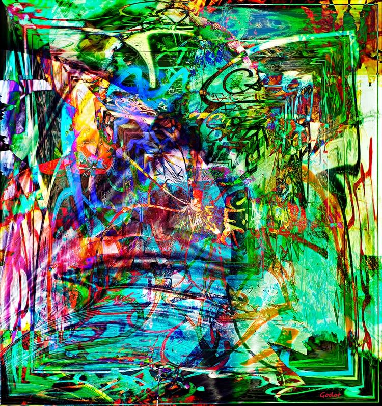 Artist: Gode Wilke Title: Trans - art-godot | ello