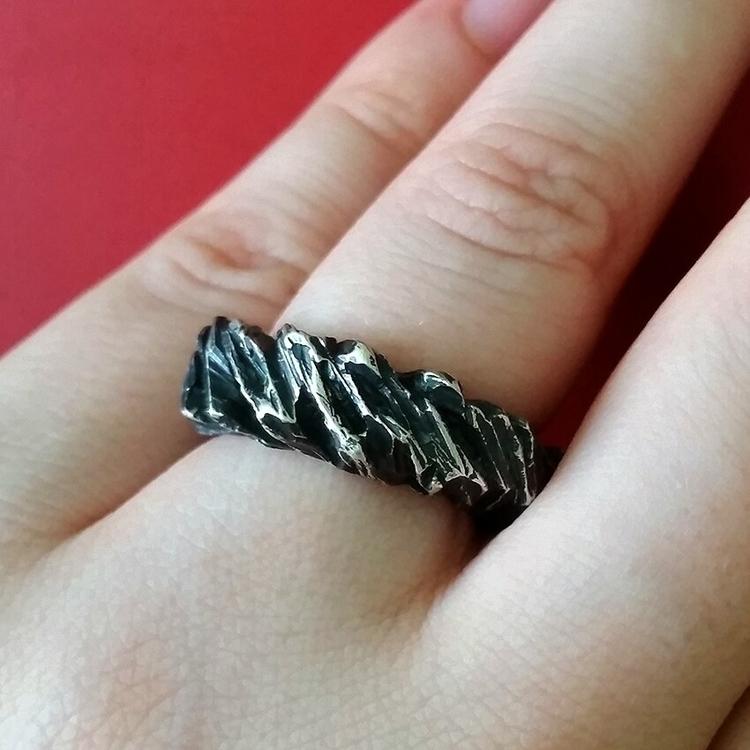 Maris ring ♡ - art, jewellery, jewellerysmith - stephanierachael | ello