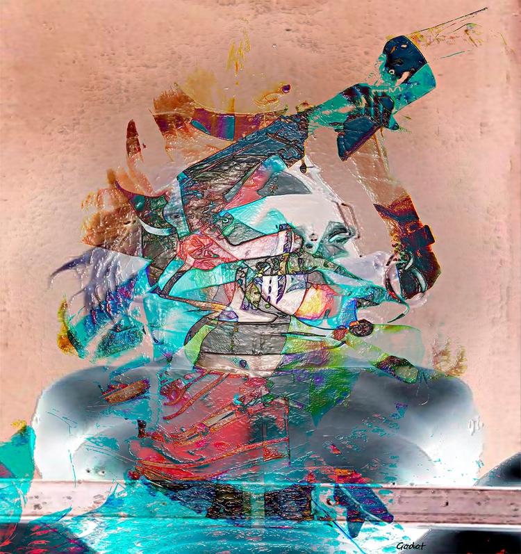 Artist: Gode Wilke Title: wrong - art-godot | ello